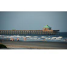 Folly Beach Pier Photographic Print