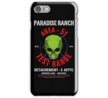 AREA 51 - PARADISE RANCH iPhone Case/Skin