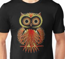 String Art Owl Unisex T-Shirt