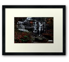 The falls of Issaqueena Framed Print