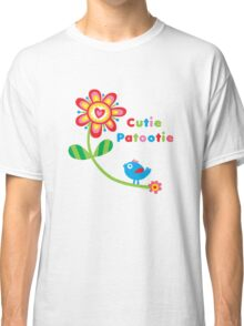 Cutie Patootie - on lights Classic T-Shirt