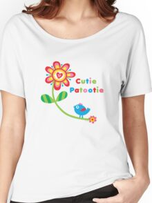 Cutie Patootie - on lights Women's Relaxed Fit T-Shirt
