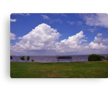 Sunrise Park on James Island, Charleston Canvas Print