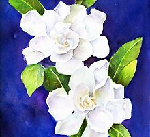 The Fragrant Gardenia by arline wagner