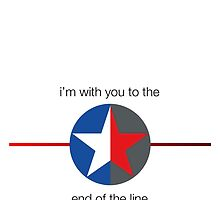 'to the end of the line' split star (phones and cards only) by cindella204
