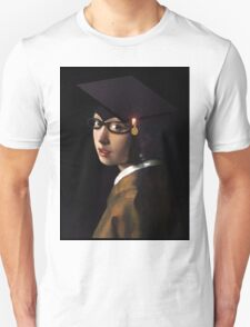 Girl with the Graduation Cap & Glasses T-Shirt