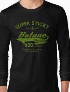 Retro Butane Hash Oil Long Sleeve T-Shirt