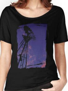 Purple Mill Women's Relaxed Fit T-Shirt