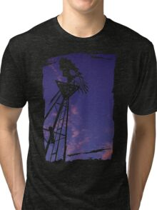 Purple Mill Tri-blend T-Shirt