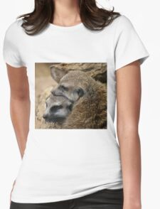 An Intimate Moment Womens Fitted T-Shirt