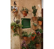 Valldemosa wall Photographic Print