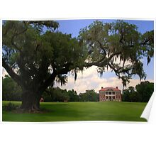 Drayton Hall Plantation, Charleston Poster