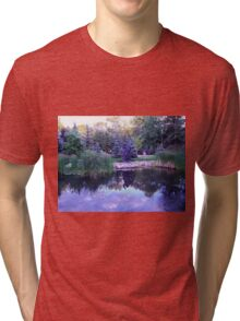 Blue Reflections Tri-blend T-Shirt