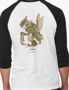 Scyther Pokemayan Men's Baseball ¾ T-Shirt