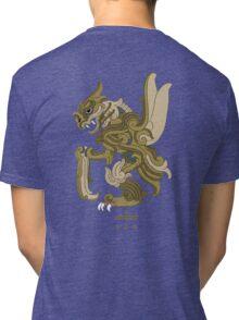Scyther Pokemayan Tri-blend T-Shirt