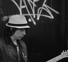 Street Guitarist by AcePhotography
