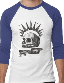 Chloe's Shirt - Misfit Skull Men's Baseball ¾ T-Shirt