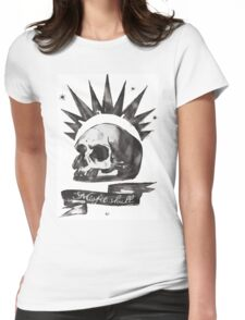 Chloe's Shirt - Misfit Skull Womens Fitted T-Shirt