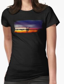 Mingara Wire Womens Fitted T-Shirt
