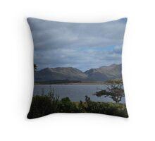 Connemara Hillside Throw Pillow