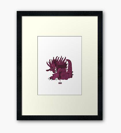 Nidoking Framed Print