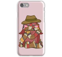 Fourth Doctor Penguin - Doctor Who iPhone Case/Skin