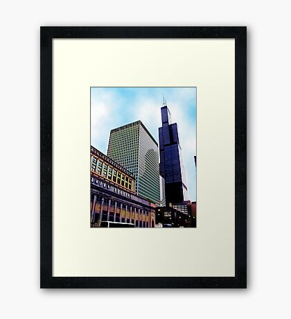union station, chicago Framed Print