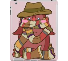 Fourth Doctor Penguin - Doctor Who iPad Case/Skin