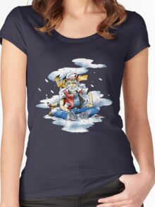 The Ascetic Champion Women's Fitted Scoop T-Shirt