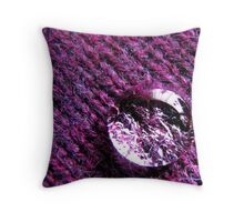A drop over the purple Throw Pillow