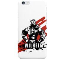 Wilhelm iPhone Case/Skin