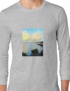 Seaside Scene - Robe Long Sleeve T-Shirt