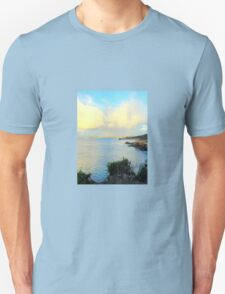 Seaside Scene - Robe Unisex T-Shirt
