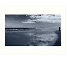 Northumberland coast Art Print