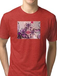 Oriental Garden Goes Wild Tri-blend T-Shirt
