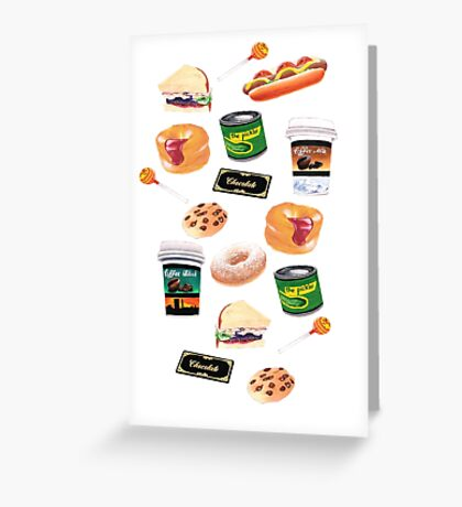 You Stuffed Your Face! Greeting Card