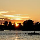 summer sunset on the st. lawrence by 1busymom