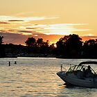 watching the sunset on the st. lawrence by 1busymom