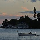 dusk falls upon the st. lawrence by 1busymom