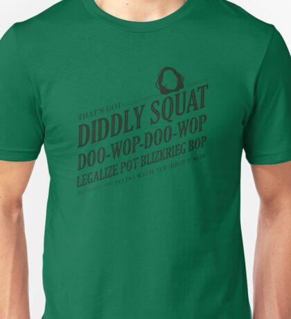Beifong's Got Diddly Squat Unisex T-Shirt