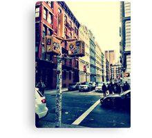 SoHo Street Corner Canvas Print