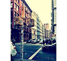 SoHo Street Corner Photographic Print