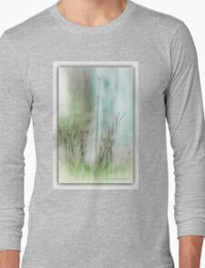 Water Side Peace © Vicki Ferrari Photography Long Sleeve T-Shirt
