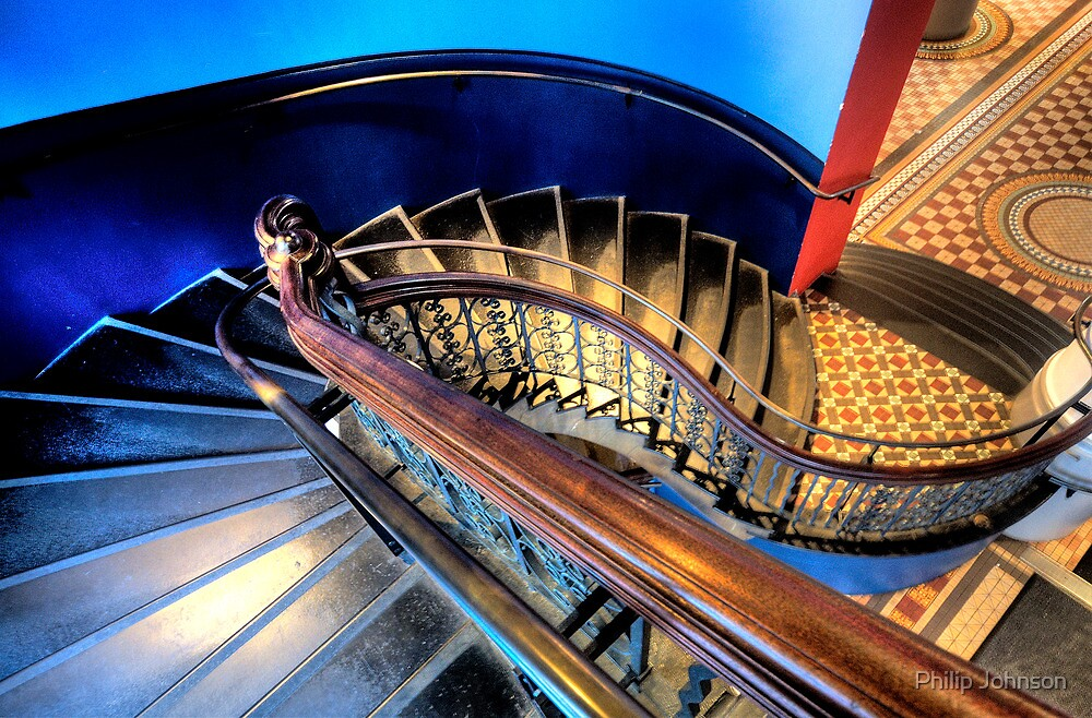 Round and Round -  QVB Sydney - The HDR Experience by Philip Johnson