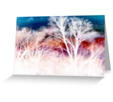 wild trees Greeting Card
