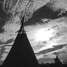 """TeePee Skyline"" by David Monsma"