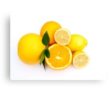 Citrus.... Canvas Print