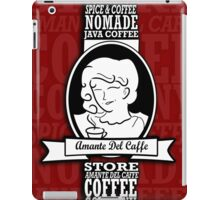 amante del caffe iPad Case/Skin