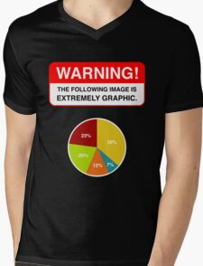 WARNING EXTREMELY GRAPHIC! Mens V-Neck T-Shirt
