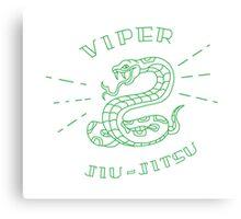 Viper Jiujitsu Canvas Print